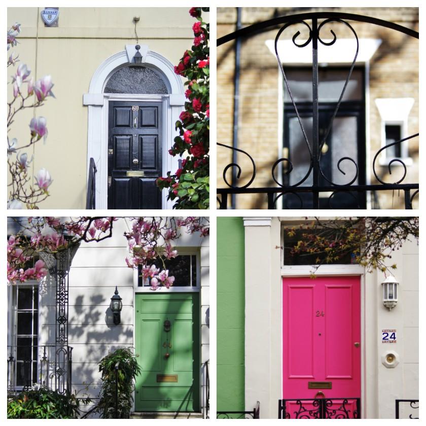 Notting Hill doors
