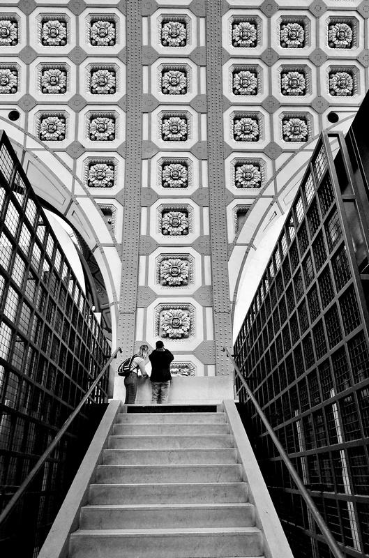 Géométrie d'escalier
